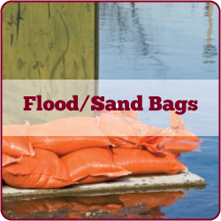 Flood Bag and Sand Bag Inventory